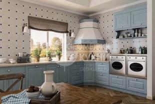 Кухня Эстель из натуральной древесины
