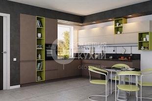 Стильная кухня Капри в стиле минимализм
