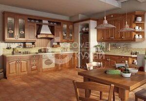 Кухня Леда из массива ясеня или дуба