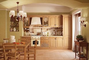 Кухня Норма в классическом дизайне