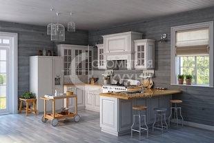 Классическая кухня Симона из дерева