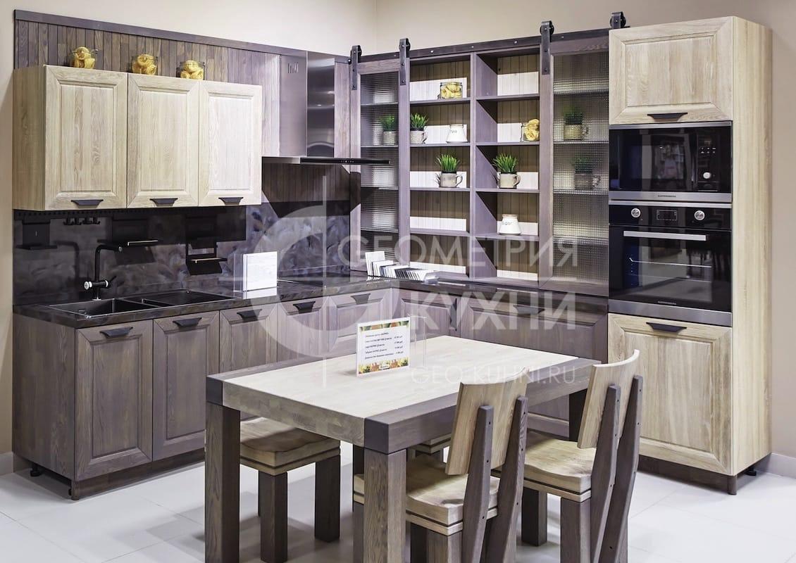 Сочетание классики и модерна в кухне Агата
