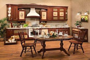 Классическая кухня Альба в стиле прованс