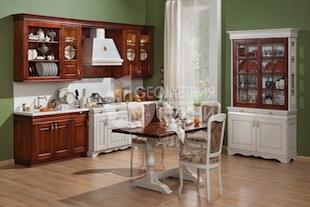 Классическая кухня Карина из берёзы или дуба