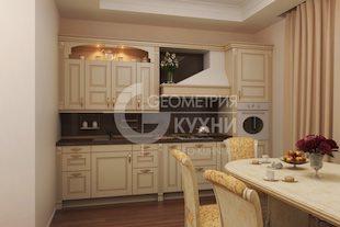Роскошная кухня Софи в классическом стиле