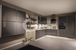 Кухня Мариелла из практичных материалов
