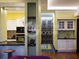 Кухонная мебель для квартиры-студии