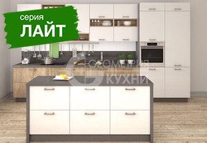 Стильный кухонный гарнитур Мадрид из ЛДСП
