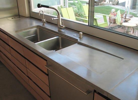 Artificial stone kitchen
