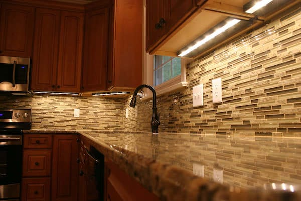 lighting of local areas in the kitchen1