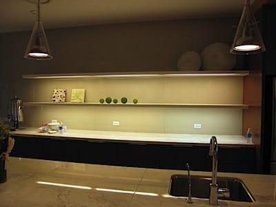 lighting under shelves in the kitchen-2