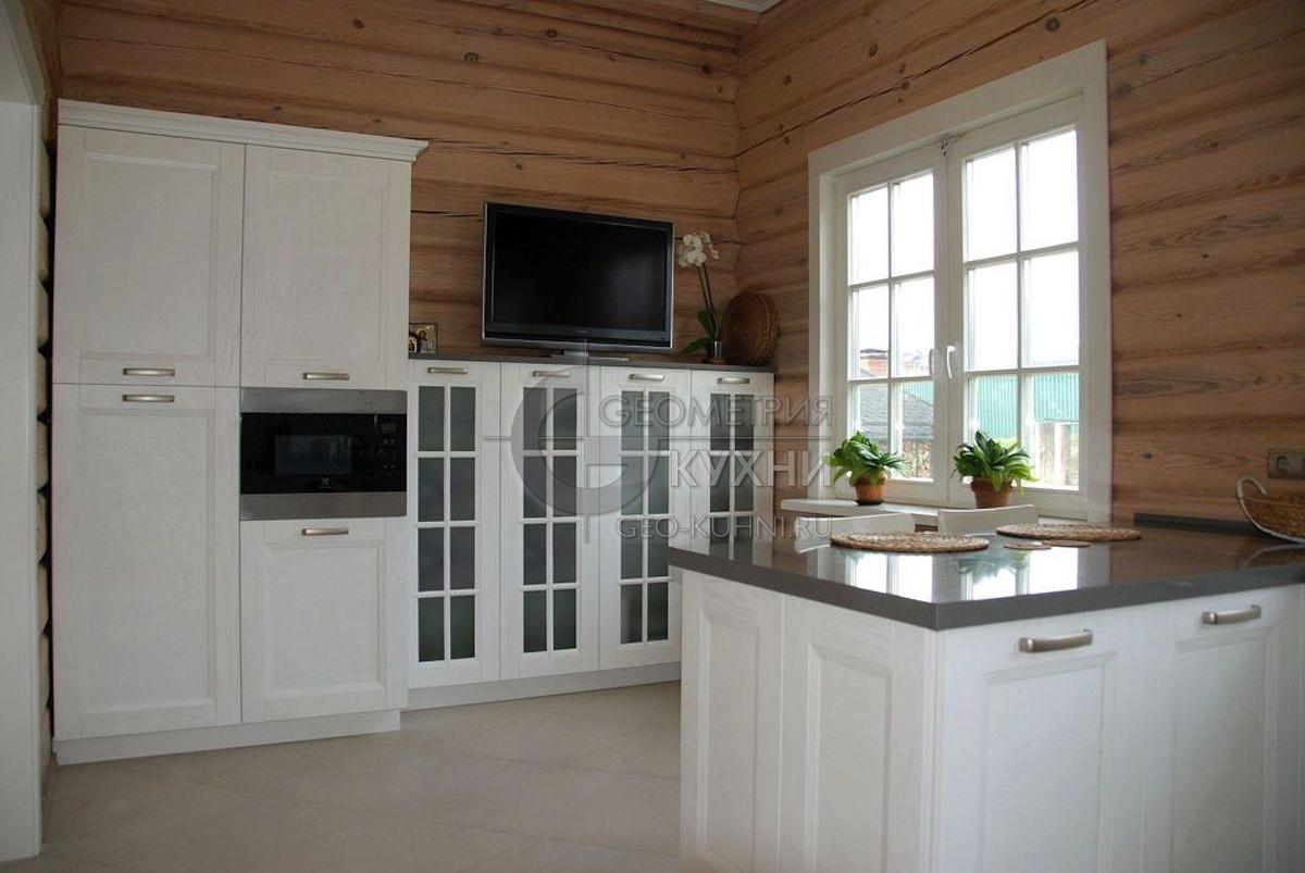 Белая кухня в интерьере (фото)