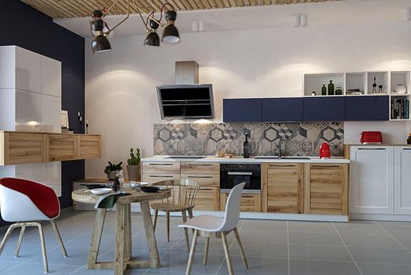 Неординарная и технологичная кухня Дамиана